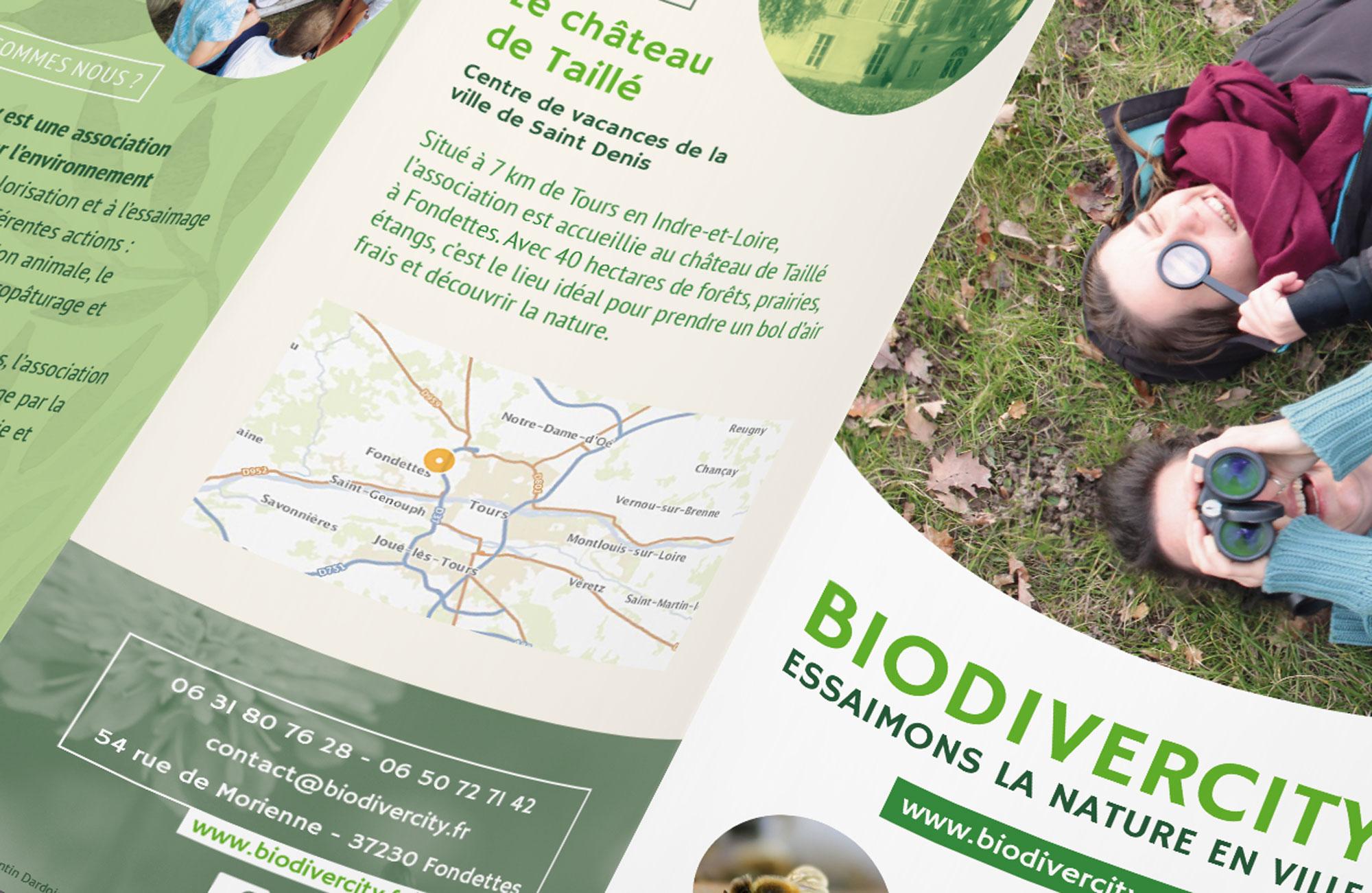 Détail du dépliant Biodivercity