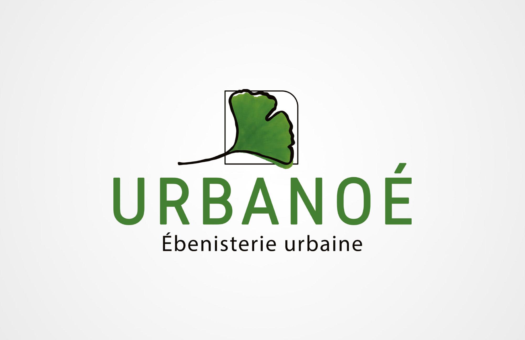 Logo Urbanoé Ébénisterie Urbaine